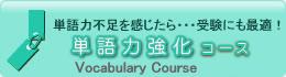 オンライン英会話のe英会話 単語力強化コース
