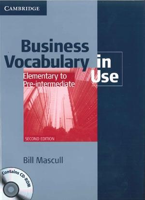 オンライン英会話のe英会話 Business Vocabulary in Use Elementary to Pre-intermediate